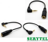 Cable adaptador 2.5mm stereo to 3.5mm stereo jack  de 15cm Wash  wly-091