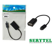Cable Otg Micro Usb-Usb 30cm Galaxy Note 2/3,s3/s4/s5 Tablet  wash wcm-233-ot