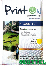 Toner compatible con Samsung Yellow ptoclp300mg